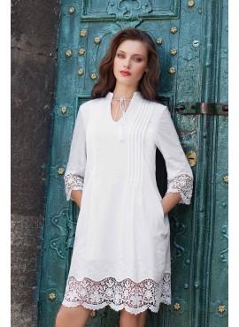 Літня біла сукня мод.5307