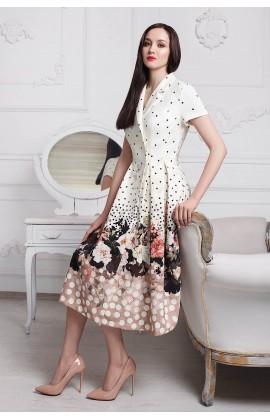 Стильное платье мод.5341