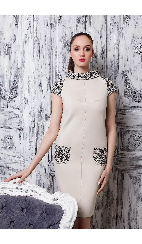 Сукня з хомутом мод.5285