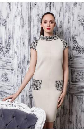 Платье с хомутом мод.5285