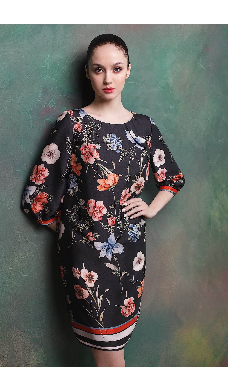 Сукня прямого крою мод.5238