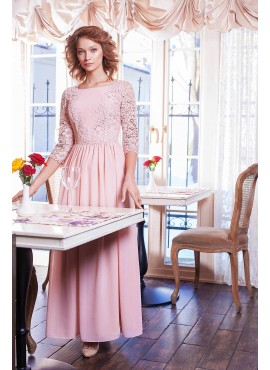 Нарядное длинное платье мод.5303а