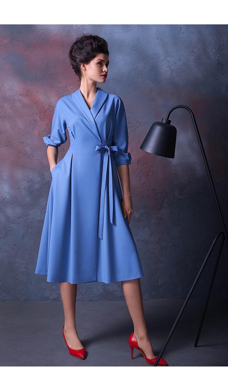 Елегантна сукня міді мод.5331а