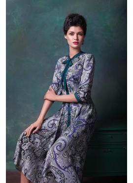 Елегантна сукня міді мод.5302